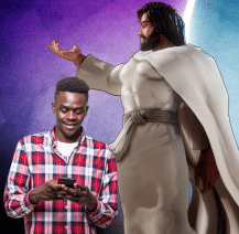 Playing Jesus character