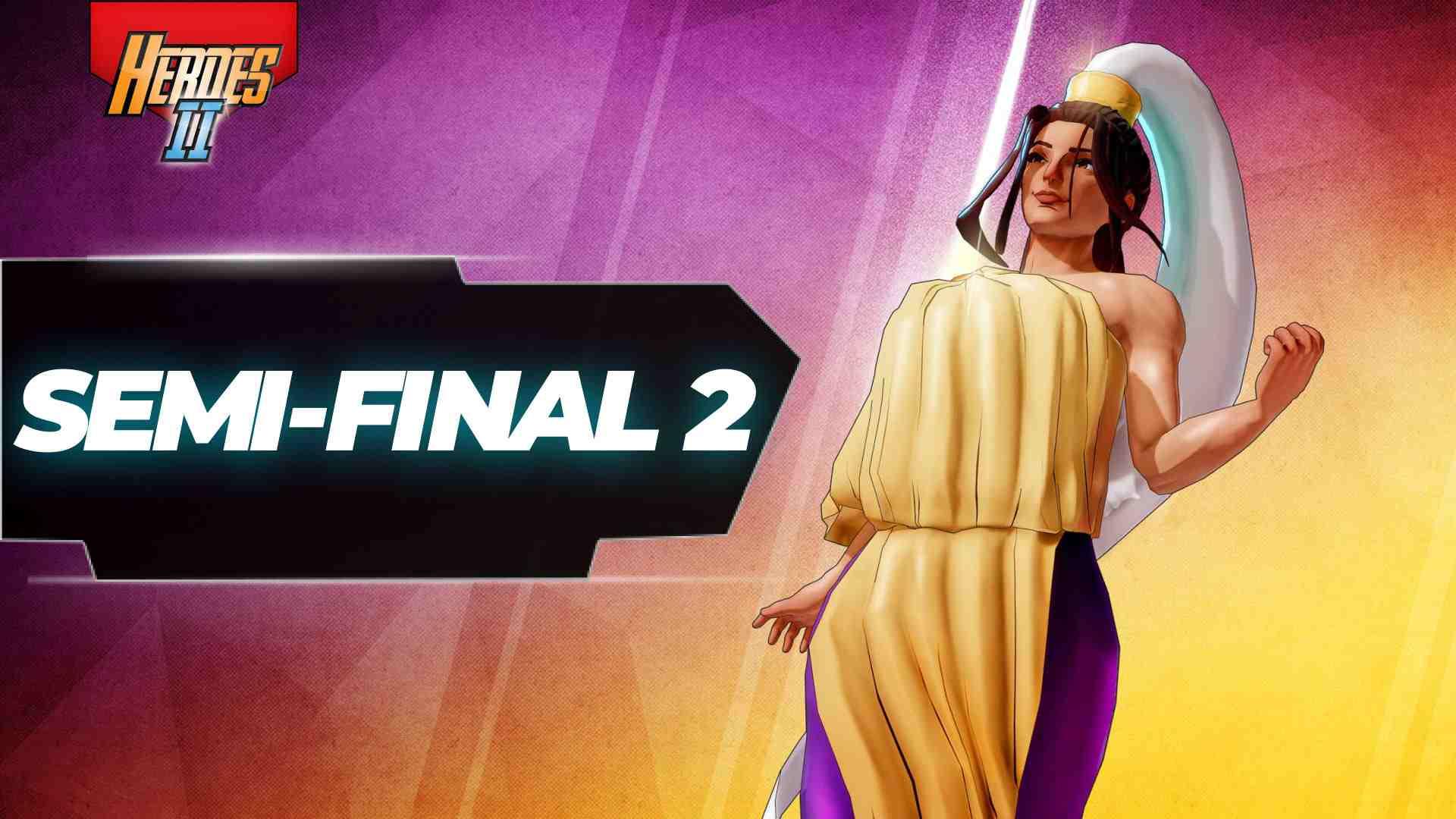 Semi-final 2 banner