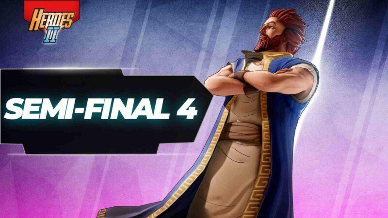 Semi-final 4 banner