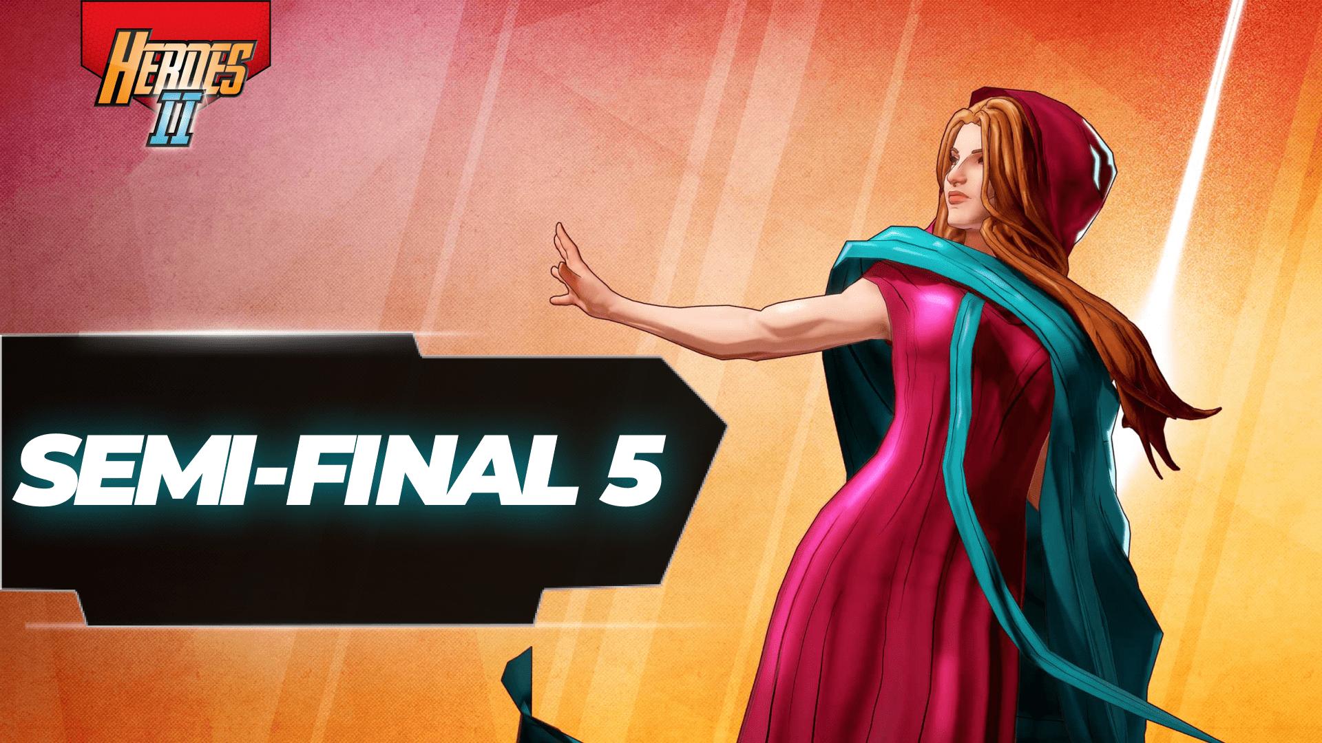 Semi-final 5 banner