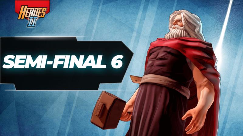 Semi-final 6 banner