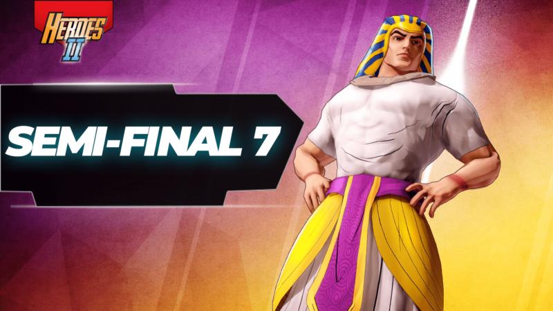 Semi-final 7 banner