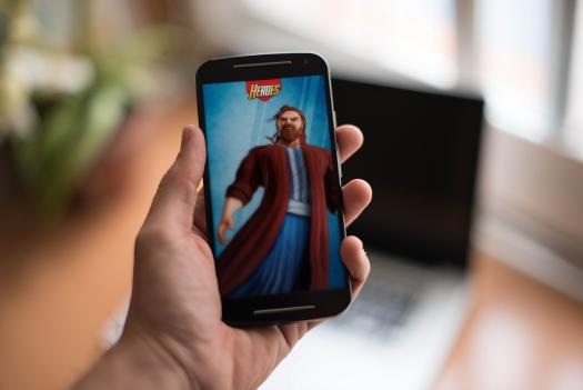Heroes II on mobile